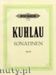 Okładka: Kuhlau Friedrich Daniel Rudolf, Sonatinas for Piano, Vol. 2