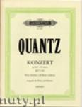 Okładka: Quantz Johann Joachim, Flute Concerto in G Minor (Fl-Pf)