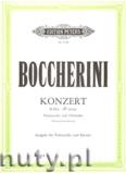 Okładka: Boccherini Luigi, Concerto in B flat for Violoncello and Orchestra (Violoncello and Piano)
