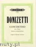 Ok�adka: Donizetti Gaetano, Clarinet Concertino in B flat