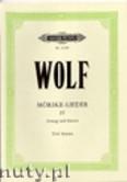 Ok�adka: Wolf Hugo, M�rike - Lieder, Band 4