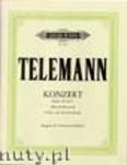 Ok�adka: Telemann Georg Philipp, Violin Concerto in B flat,