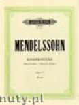 Ok�adka: Mendelssohn-Bartholdy Feliks, Kinderst�cke, Op. 72