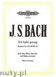 Okładka: Bach Johann Sebastian, Ich habe genug, Kantata nr 82, BWV 82