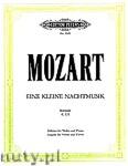 Ok�adka: Mozart Wolfgang Amadeusz, Eine kleine Nachtmusik K525 for Violin and Piano