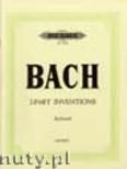 Ok�adka: Bach Johann Sebastian, Inventions (two-part) BWV 772-786 (Pf)