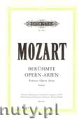 Okładka: Mozart Wolfgang Amadeusz, Famous Opera Arias for Soprano