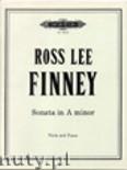 Okładka: Finney Ross Lee, Sonata in A minor (Vla-Pf)