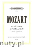 Okładka: Mozart Wolfgang Amadeusz, Famous Opera Arias for Bass (Low voice-Pf)