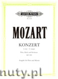 Ok�adka: Mozart Wolfgang Amadeusz, Concerto in C for Flute, Harp and Orchestra K.299 (Fl-Pf)