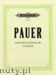 Ok�adka: Pauer Max, Technical Finger Studies for Piano