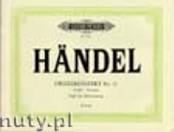 Okładka: Händel George Friedrich, Concerto No. 15 in D minor for Organ and Orchestra