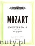 Okładka: Mozart Wolfgang Amadeusz, Horn Concerto No.4 in E flat K.495 (Hn-Pf)