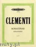 Okładka: Clementi Muzio, Sonatinas Op.36 (Pf)