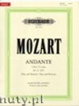 Okładka: Mozart Wolfgang Amadeusz, Andante in C K315