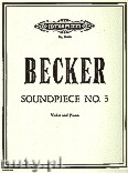 Okładka: Becker John, Soundpiece No. 3