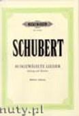Ok�adka: Schubert Franz, 30 Ausgew�hlte Lieder f�r Mittlere Stimme und Klavier