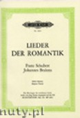Ok�adka: Schubert Franz, Brahms Johannes, Selected Songs of Romanticism for High Voice and Piano