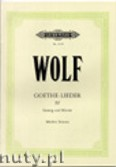 Okładka: Wolf Hugo, Goethe-Lieder: 51 Songs Vol.4 (Medium voice-Pf)