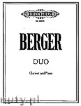 Ok�adka: Berger Arthur, Duo for Clarinet and Piano