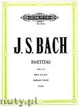 Okładka: Bach Johann Sebastian, Partitas for Piano, BWV 825-827, Vol.1