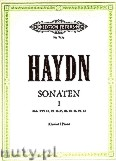 Okładka: Haydn Franz Joseph, Sonatas for Piano, Vol. 1