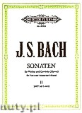 Ok�adka: Bach Johann Sebastian, Sonatas for Violin and Harpsichord (Piano), BWV 1017 - 1019, Vol. 2