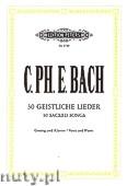 Okładka: Bach Carl Philipp Emmanuel, 30 Geistliche Lieder
