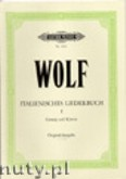 Ok�adka: Wolf Hugo, Italian Songbook for Voice and Piano, Vol. 1