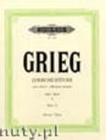 Okładka: Grieg Edward, Lyric Pieces for Piano, Op. 12, Book 1