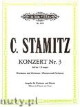 Ok�adka: Stamitz Carl, Clarinet Konzert Nr. 3 in B flat