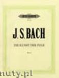 Okładka: Bach Johann Sebastian, The Art of Fugue BWV 1080 for Piano