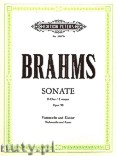 Ok�adka: Brahms Johannes, Sonata No. 2 in F Op. 99 for Violoncello and Piano