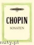 Okładka: Chopin Fryderyk, Sonaten