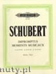 Ok�adka: Schubert Franz, Impromptus, Moments Musicaux for Piano, Op. 90, 94, 142