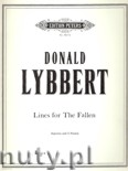 Ok�adka: Lybbert Donald, Lines for the Fallen