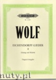 Okładka: Wolf Hugo, Eichendorff-Lieder: 20 Songs Vol.2 (High-medium voice-Pf)