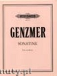 Ok�adka: Genzmer Harald, Sonatina for Viola and Piano