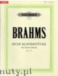 Ok�adka: Brahms Johannes, Sechs Klavierst�cke op. 118