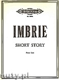 Okładka: Imbrie Andrew, Short Story for Piano Solo