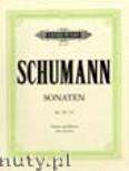 Okładka: Schumann Robert, Sonatas in A minor Op.105; D minor Op.121 (Vln-Pf)
