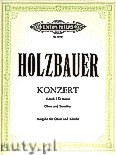 Ok�adka: Holzbauer Ignaz Jacob, Concerto in D minor for Oboe and Strings