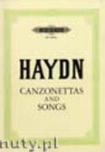 Ok�adka: Haydn Franz Joseph, 35 Canzonettas and Songs for High Voice and Piano