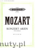 Ok�adka: Mozart Wolfgang Amadeusz, Concert Arias for Soprano