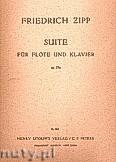 Okładka: Zipp Friedrich, Suite für Flöte und Klavier, Op. 35a