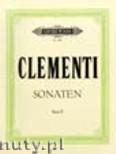 Ok�adka: Clementi Muzio, Selected Sonatas for Piano, Vol. 2