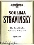 Ok�adka: Stravinsky Soulima, Art of Scales, 24 Preludes for Piano