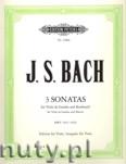 Ok�adka: Bach Johann Sebastian, Viola da gamba Sonatas