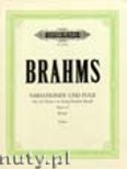 Ok�adka: Brahms Johannes, Variations and Fugue on a Theme of H�ndel, Op. 24 for Piano