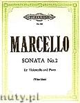 Ok�adka: Marcello Benedetto, Sonata No. 2 for Violoncello and Piano